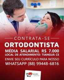 Ortodontista Contrata-se