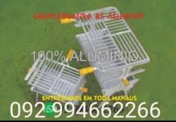 Churrasqueira 100% aluminio