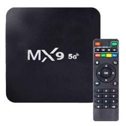 Conversor Smart TV Box Mx9 Pro 4K Dual Band 4gb de ram 32gb
