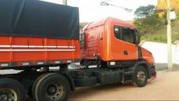 Conjunto Scania e Carreta