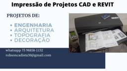 Impressão de projetos