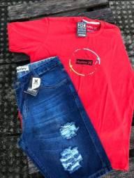 Kit Camisa e Bermuda