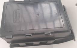 Título do anúncio: Caixa Bin Organizadora Plástica Nº5 Preta - Usada - A Retirar