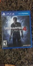 Título do anúncio: Uncharted 4 para PS4