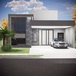 Título do anúncio: Casa de condomínio térrea para venda com 139 metros quadrados com 3 quartos