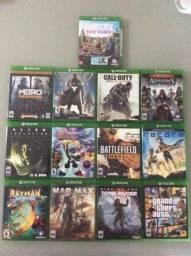 Vendo lote contendo 13 jogos XBOX ONE