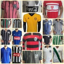 Camisas de Futebol Retro