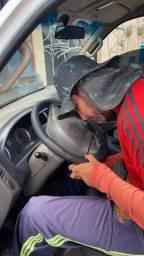 Título do anúncio: Capa de volante costurada a mão