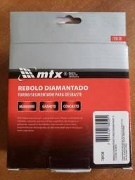 Rebolo Diamantado Turbo e Segmentado MTX