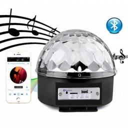 Globo De Luz Festa Bluetooth Led