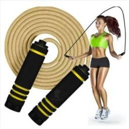 Corda Profissional Saltar Pular Treino Exercício Crossfit Funcional