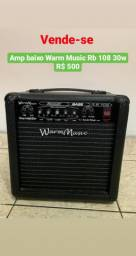 Amplificador de Baixo Warm Music rb 108 30w - MG - Belo Horizonte