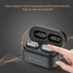 Fone de Ouvido Bluetooth Syllable s101. Som de qualidade profissional!