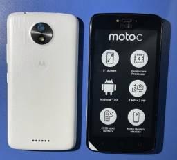 Smartphone Motorola Moto C XT1750 Dual Sim 4G Tela 5.0 8GB Cam 5MP - Branco