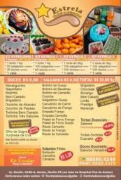 Estrela Doces e Salgados - Kits Festa a partir de R$78,00