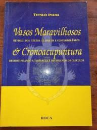 Título do anúncio: Livro usado Vasos maravilhosos e cronoacupuntura - Tetsuo Inada