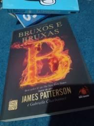 Título do anúncio: Livro bruxos e bruxas - James Patterson