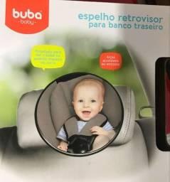 Espelho retrovisor para banco traseiro bebê