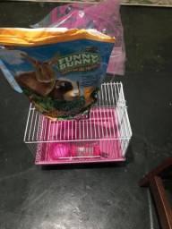 Vendo gaiola de transporte para roedores.