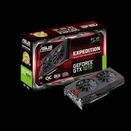 Título do anúncio: Placa de vídeo GTX 1070 OC Expedition 8GB GDDR5