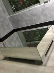 Mesa de centro espelhada tok stok