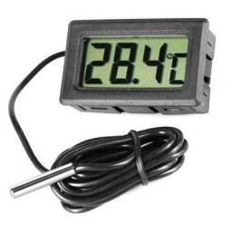Título do anúncio: Termômetro Digital Aquário Freezer Estufa Etc