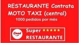 Contrata-se entregador, Moto Taxi DELIVERY.