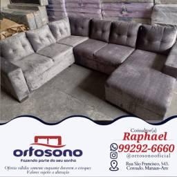 Título do anúncio: ( Sofa sofa de canto