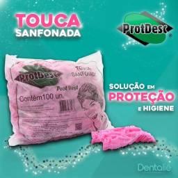 Touca sanfonada Protdesc - Pink