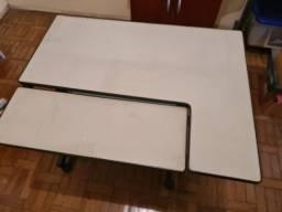 Título do anúncio: Mesa para computador com rodinhas