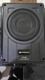 Caixa Slim Amplificada Active Box 8'' Ps-8d 200w Rms