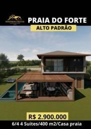 Título do anúncio: Casa 6/4 4 Suítes Praia do Forte