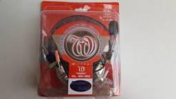 HeadPhone Stereo Microfone e Volume Super Bass Novo [Entrega]