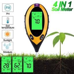 Medidor de ph solo umidade acidez digital