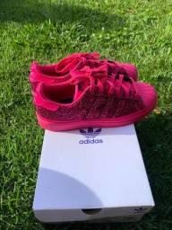 Adidas superstar rosa glitter NOVÍSSIMO!