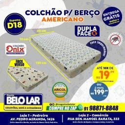 Título do anúncio: Colchão Para Berço Americano 60x130, Compre no zap *