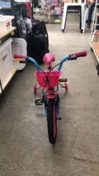 Título do anúncio: Boa noite temos Bicicleta aro 16 infantil nova
