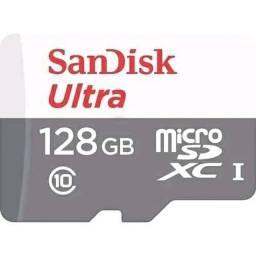 Cartão de memória 128gb classe 10