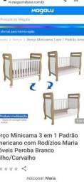 Título do anúncio: Vendo berço desse mesmo modelo  minha bebê nunca usou