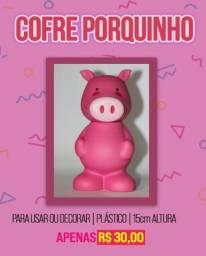 Título do anúncio: Cofre porquinho