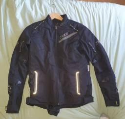Título do anúncio: Jaqueta de moto feminina impermeável X11 com pouquíssimo uso