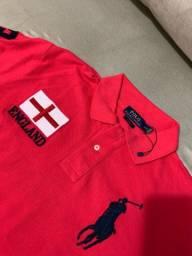 Camisas polo Ralph, Burberry, originais