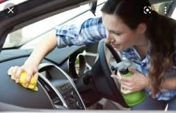 Título do anúncio: Precisa de um ajudante para limpar carro.