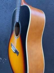 Violão folk Tagima Woodstock troco por viola