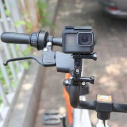 Título do anúncio: Suporte De Guidão Bike Moto Shoot Para Câmeras de ação GoPro e Similares