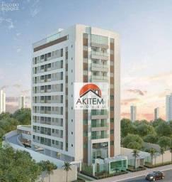 Título do anúncio: Apartamento com 2 dormitórios à venda, 51 m² por R$ 297.834 - Encruzilhada - Recife/PE