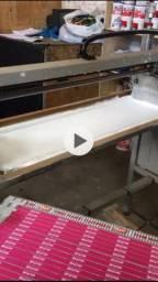 Carrossel  para serigrafia semiautomática