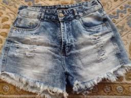 Título do anúncio: Shorts jeans Tamanho 42