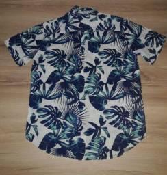 Camisa masculina havaiana da Marfinno Renner