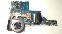 Placa Mae HP G42-372br Gaming AMD Turion II, Placa de Video OffBoard 1 GB